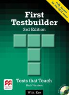 first testbuilder student s pack with key 3ªed 9780230476110