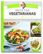 recetas vegetarianas (listas en 30 minutos) 9783625006510