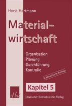MATERIALWIRTSCHAFT - KAPITEL 5