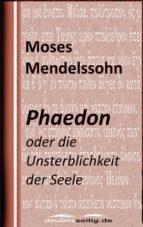 phaedon (ebook) moses mendelssohn 9783961185610