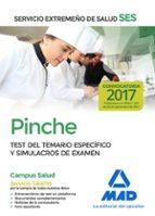 pinche del servicio extremeño de salud (ses): test de materias especificas y simulacros de examen-9788414210710