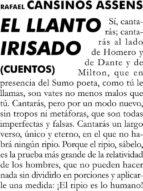 el llanto irisado (ebook)-rafael cansinos assens-9788415957010