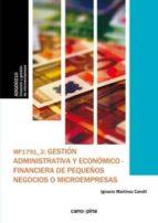 gestion admtva.y econ-financ.peque.negoc.-ignacio martinez candil-9788416338610