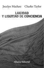 laicidad y libertad de conciencia-charles taylor-9788420652610