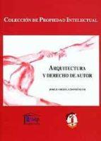 arquitectura y derecho de autor jorge ortega domenech 9788429014310