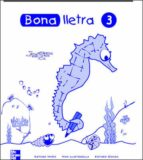bona lletra 3 educacio primaria c.inicial quadern activitats 9788448130510