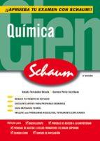 quimica (schaum selectividad) (2ª ed.) amada fernandez oncala carmen perez escribano 9788448198510
