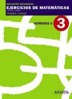 cuaderno 3 números ii (1ºeso) 9788466759410