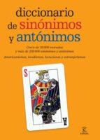 diccionario de sinonimos y antonimos 9788467007510