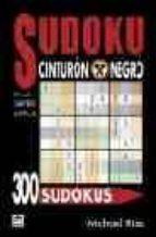 300 sudokus cinturon negro (nivel super dificil) michael rios 9788479025410