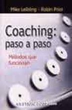 coaching: paso a paso robin prior mike leibling 9788480880510