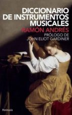 diccionario de instrumentos musicales (2ª ed.) ramon andres gonzalez cobo 9788483079010