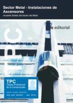 (i.b.d.)tpc sector metal   instalacion de ascensores 9788483642610