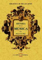 historia de la musica (ed. facsimil) henri lavoix 9788497613910