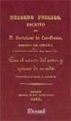 derecho publico (facsimil)-bartolome de las casas-9788498620610
