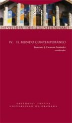 historia del cristianismo iv: el mundo contemporaneo francisco j. carmona fernandez 9788498790610
