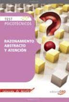 test psicotecnicos razonamiento abstracto y atencion. coleccion d e bolsillo 9788499373010