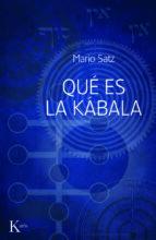 que es la kabala-mario satz-9788499880310