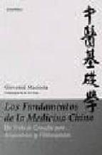 los fundamentos de la medicina china giovanni maciocia 9789729822810