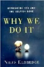 why we do it: rethinking sex and the selfish gene-niles eldredge-9780393050820