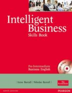 intelligent business pre-intermediate skills book and cd-rom pack-irene barrall-9780582846920