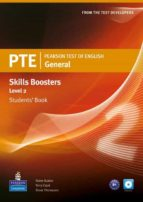 pearson test of english general skills booster 2 students  book and cdpack-9781408267820