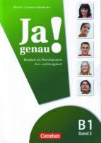 ja genau! b1 band 2 kurs und úbungsbuch audio-cd-9783060241620