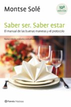 saber ser. saber estar (ebook)-montse sole-9788408109020