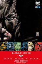 grandes autores de batman: james robinson   cara a cara james robinson 9788417276720