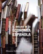 el analisis de la economia española 9788420654720