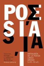 antología de la poesía lírica griega (siglos vii-iv a. c.)-9788420676920