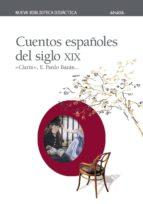cuentos españoles del siglo xix leopoldo (clarin) alas 9788420743820