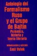 antologia del formalismo ruso y el grupo de bajtin i 9788424505820
