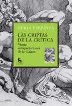 las criptas de la critica: veinte interpretaciones de la odisea nuria perpinya 9788424900120