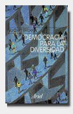 democracia para la diversidad norberto bilbeny 9788434411920