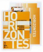 horizontes español lengua nueva-carmen garcia oliva-9788467526820