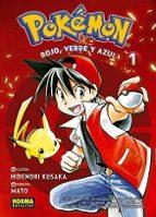 pokemon 01 rojo:  verde y azul 1-hidenori kusaka-9788467921120