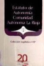 estatuto de autonomia comunidad autonoma la rioja-9788468103020
