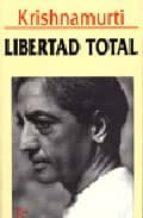libertad total-jiddu krishnamurti-9788472453920
