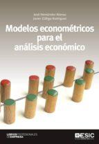 modelos econométricos para el análisis económico 9788473568920