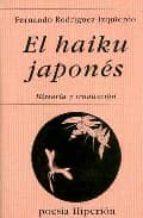 el haiku japones: historia y traduccion-fernando rodriguez-izquierdo-9788475174020