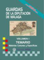 GUARDAS DE LA DIPUTACIÓN DE MÁLAGA (TEMARIO)