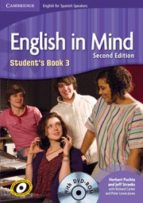 english in mind spanish speakers level 3 student s book with dvd rom-9788483236420