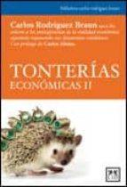 tonterias economicas ii carlos rodriguez braun 9788483565520