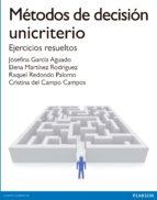 metodos de decision unicriterio-cristina del campo campos-9788490354520