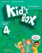 kid s box ess 4 2ed act/cd rom/hm booklet 9788490367520