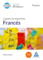 CUERPO DE MAESTROS FRANCÉS. TEMARIO