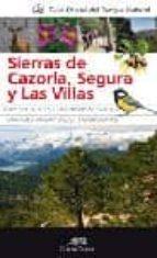 guia parque natural sierras de cazorla, segura y las villas-9788492924820