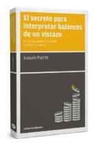 el secreto para interpretar balances de un vistazo-joaquin puerta gomez-9788494106620