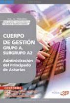 cuerpo de gestion grupo a, subgrupo a2, de la administracion del del principado de asturias. vol. iii. temario union europea y politicas publicas y gestion de recursos humanos 9788499372020
